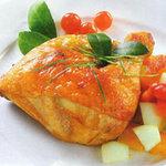 Ẩm thực - Béo thơm đùi gà nướng lá chanh
