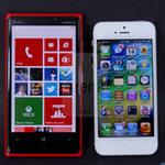 Thời trang Hi-tech - So sánh Lumia 920 với iPhone 5