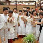 Thế giới - TQ: Đám cưới tập thể của… 7 cặp đôi tí hon