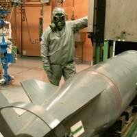 Mỹ: Syria đã nạp vũ khí hóa học vào bom