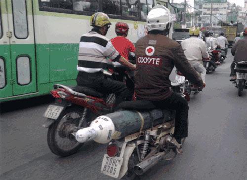 Ngắm xế độ cực dị chỉ có ở Việt Nam - 7