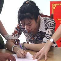 """Khởi tố, bắt tạm giam vợ """"siêu trộm"""" Đặng Ngọc Tân"""