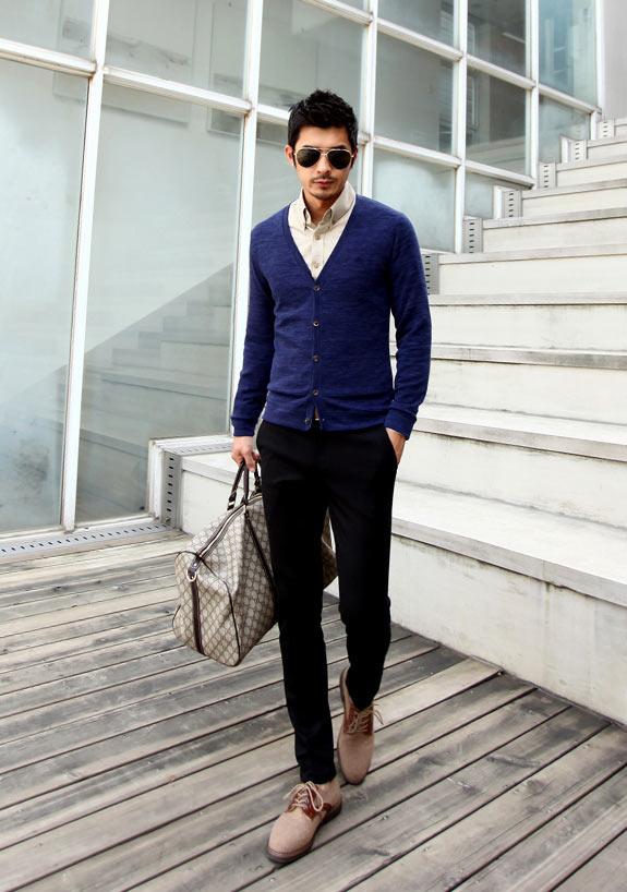 5 mẫu áo len Hàn Quốc đẹp cho chàng - 4