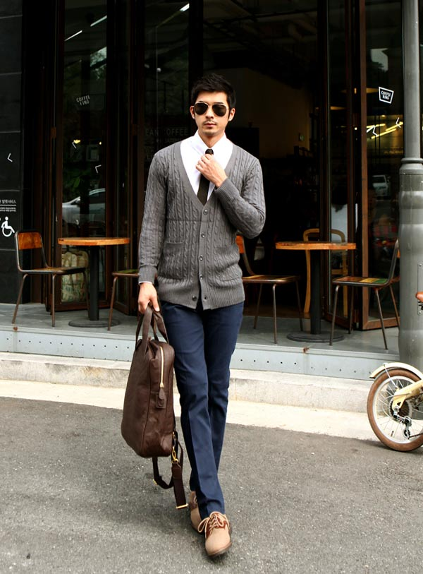 5 mẫu áo len Hàn Quốc đẹp cho chàng - 9