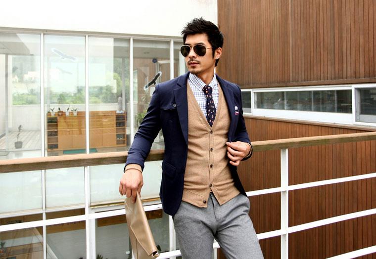 5 mẫu áo len Hàn Quốc đẹp cho chàng - 11