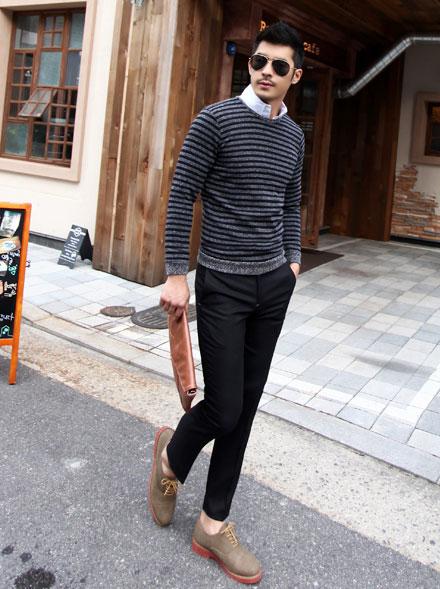 5 mẫu áo len Hàn Quốc đẹp cho chàng - 7