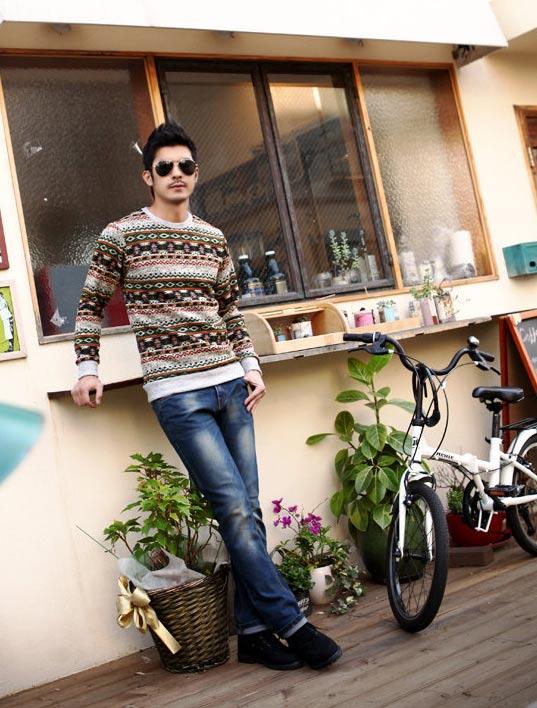 5 mẫu áo len Hàn Quốc đẹp cho chàng - 14