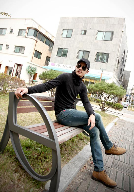 5 mẫu áo len Hàn Quốc đẹp cho chàng - 5
