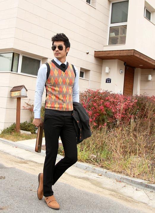 5 mẫu áo len Hàn Quốc đẹp cho chàng - 3