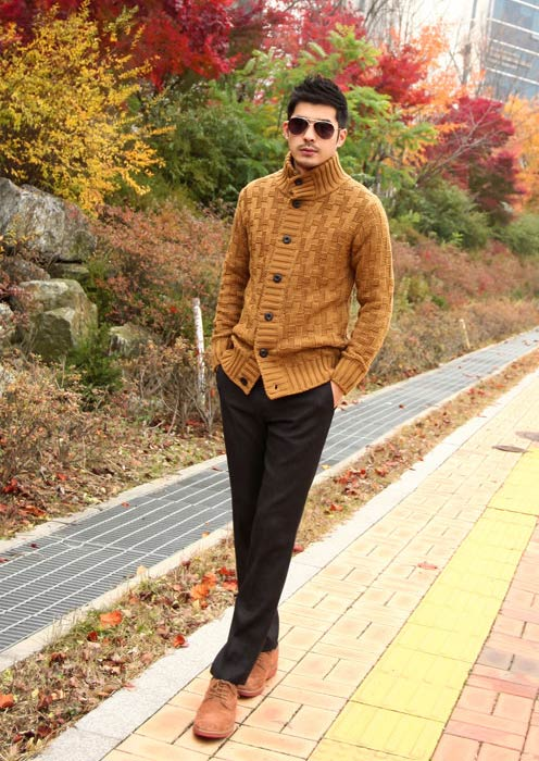 5 mẫu áo len Hàn Quốc đẹp cho chàng - 10