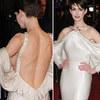 Anne Hathaway gây thót tim vì... hở hiểm