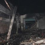 Tin tức trong ngày - Cháy, nhà xưởng rộng 600m2 đổ sập