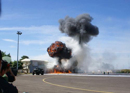 Diễn tập chống bạo loạn, khủng bố hàng không - 6