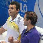 Thể thao - Federer & Tsonga trình diễn tuyệt kỹ ở Brazil