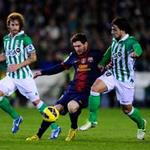 Betis - Barca: Messi lập kỉ lục