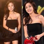 Thời trang - Mỹ nhân Hàn suýt tụt váy lộ ngực đầy