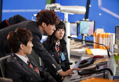 Nàng cỏ Go Hye Sun làm tiếp viên - 6