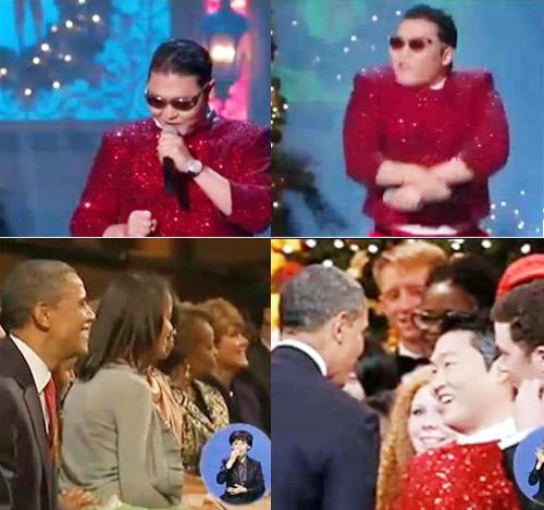 Psy nhảy ngựa trước Tổng thống Mỹ - 3