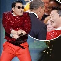 Psy nhảy ngựa trước Tổng thống Mỹ