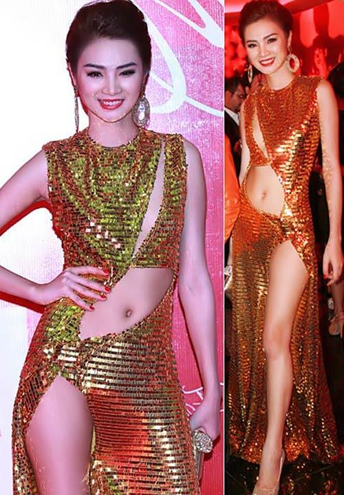 Top váy xẻ đùi táo bạo nhất năm! - 5