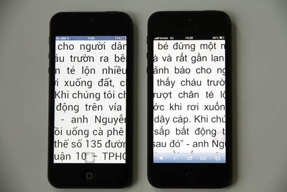 VIPPhone iP5 4,5 triệu đọ dáng với iPhone 5 - 6