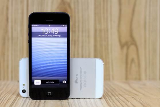 VIPPhone iP5 4,5 triệu đọ dáng với iPhone 5 - 7