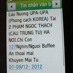 Thị trường - Tiêu dùng - Hàng ăn 'dội bom' tin nhắn rác câu khách