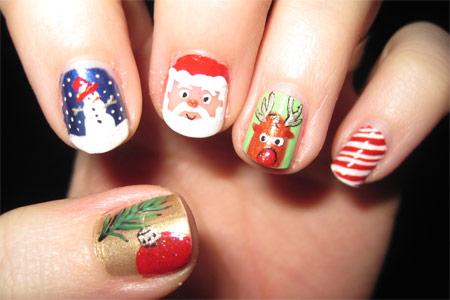 6 mẫu nail Giáng Sinh đẹp và độc! - 1