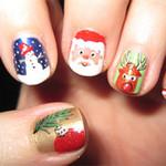 Trang điểm - 6 mẫu nail Giáng Sinh đẹp và độc!