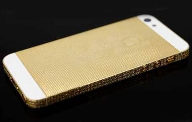 """iPhone 5 mạ vàng: Quà Tết """"hợp lòng người nhận""""? - 1"""