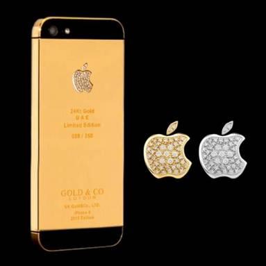 """iPhone 5 mạ vàng: Quà Tết """"hợp lòng người nhận""""? - 5"""