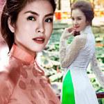 Thời trang - 11 giai nhân Việt mặc áo dài đẹp nhất!