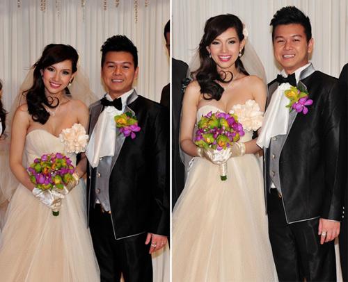 7 mẫu váy cưới đẹp nhất của cô dâu Việt - 3