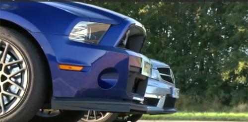 C63 AMG chạm trán Shelby GT500 - 1