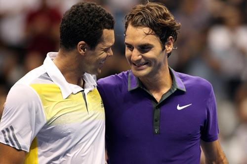 Tennis 8: Federer rủ Tsonga làm ăn - 2