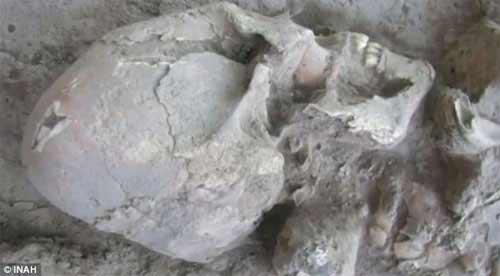 """Phát hiện sọ """"người ngoài hành tinh"""" ở Mexico - 2"""