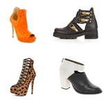 Thời trang - Giày cut-out: Lạ lẫm và mê hoặc