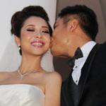 Hậu trường phim - Vợ chồng Jennifer Phạm hôn nhau tình cảm