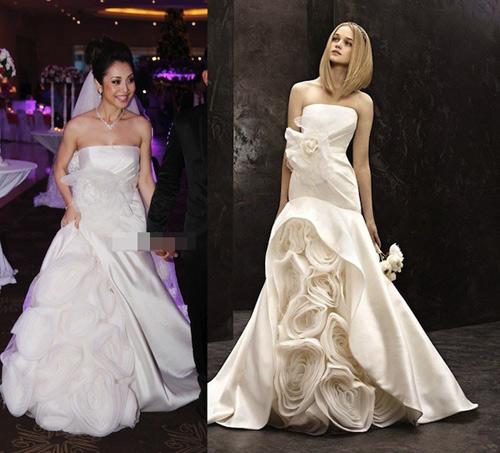 7 mẫu váy cưới đẹp nhất của cô dâu Việt - 12