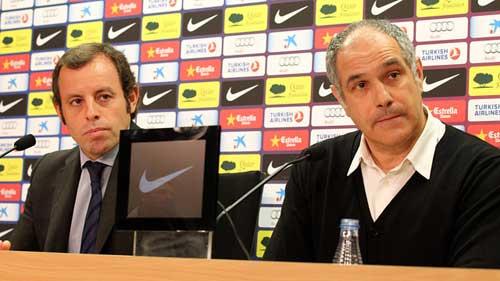 Barca phủ nhận chuyện mời lại Guardiola - 1