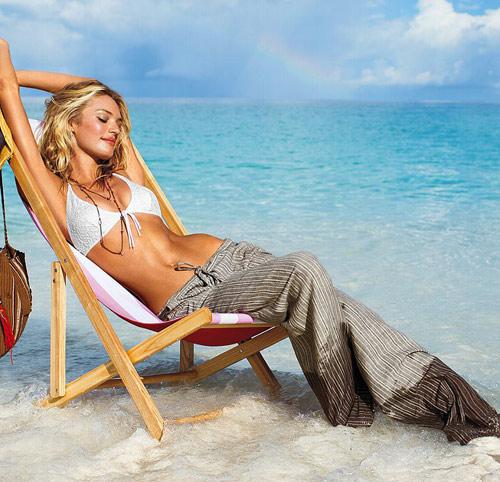 Candice Swanepoel gợi tình từng centimet - 6