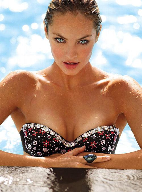 Candice Swanepoel gợi tình từng centimet - 11