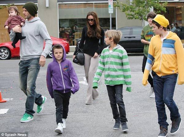 Gia đình Beckham sành điệu nhất thế giới - 2