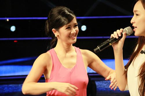 Hồng Nhung trở lại Vietnam Idol - 1