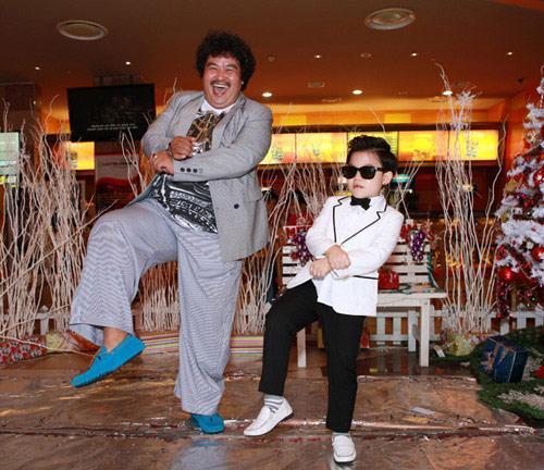 Psy nhí về Việt Nam đóng phim Tết - 1