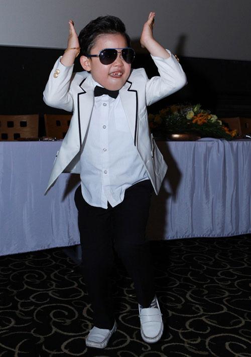 Psy nhí về Việt Nam đóng phim Tết - 9