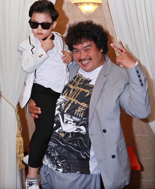 Psy nhí về Việt Nam đóng phim Tết - 13
