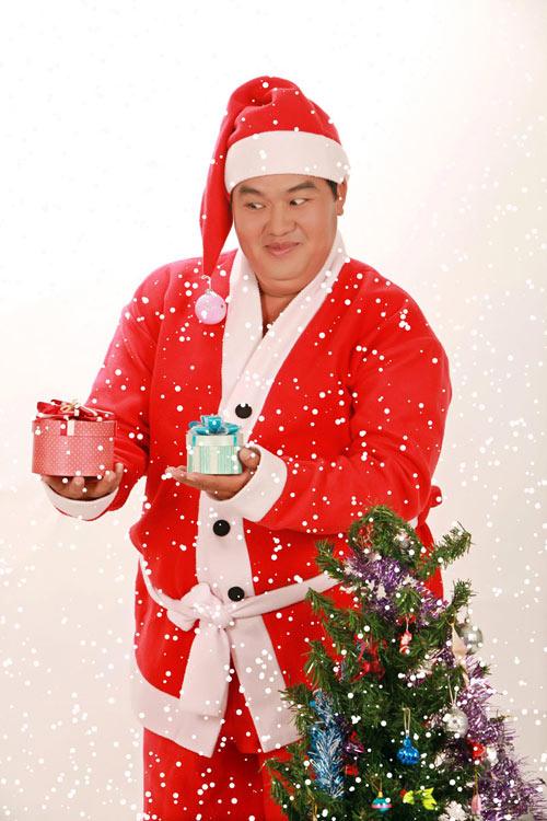 Hoàng Mập nhí nhảnh làm ông già Noel - 5