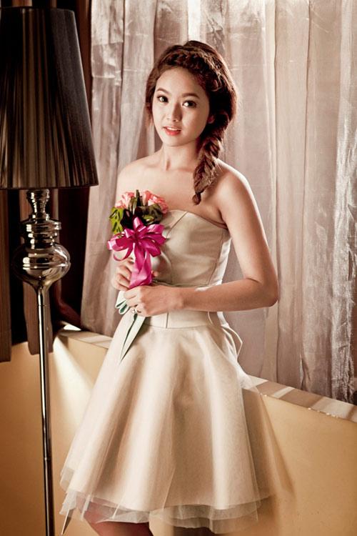 Thu Ngọc (Mây Trắng) làm cô dâu - 11