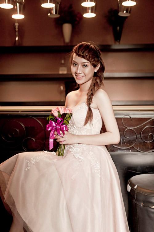 Thu Ngọc (Mây Trắng) làm cô dâu - 10